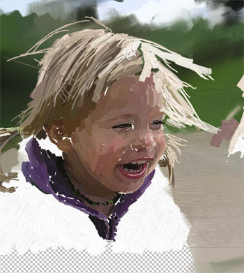 Painting of Ella